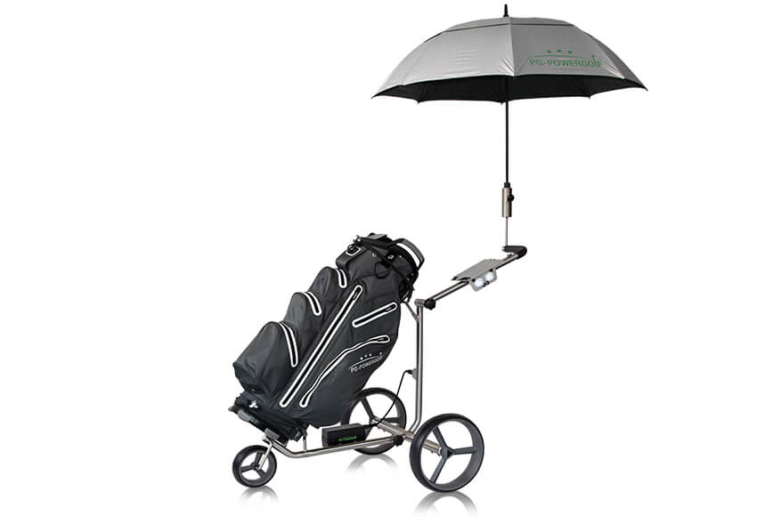 pg powergolf elektro trolley